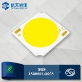高品質の白い90raアルミニウムは50W高い発電の穂軸LEDを基づかせていた