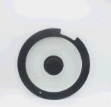 Стеклянная крышка с Cookware оправы силикона устанавливает крышку бака лотка кухни вспомогательную