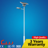 Lámpara de calle solar impermeable de IP65 30W 60W 80W LED
