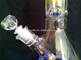Glace fumant glace de pipe de fumage de recycleur de becher de Borosilicate d'Enjoylife Handblown la mini
