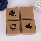 Impressão recicl pequena feita sob encomenda que empacota a caixa do papel de embalagem