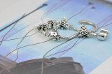 Branelli d'argento di fascini degli accessori di modo del branello