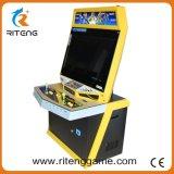 Máquina de jogo ereta da arcada do metal do lutador de rua do empurrador da moeda