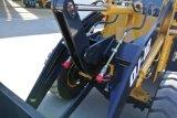 China Avant 1.2 Tonnen-Vorderseite-Minirad-Ladevorrichtung für Bauernhof