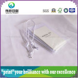 Weißes Seil Belüftung-verpackende Papierdrucken-Fall-Marke