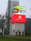 スクリーンのフルカラーのLED表示掲示板を広告する屋外P8