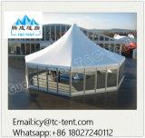 La mejor calidad de la venta caliente multi lateral impermeable tienda de la boda anti-UV de aluminio