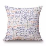 Cassa stampata del cuscino di manovella di formula matematica senza farcire (35C0035)