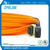 Manutenção programada do cabo de correção de programa da fibra óptica de MPO/MTP