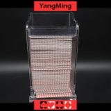 Вспомогательное оборудование Ym-PS01 игр таблицы покера казина держателя/коробки сбрасывания играя карточки палуб пластмассы 8 преданное
