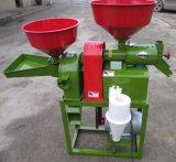 Máquina del molino de arroz incluyendo la máquina, el pulverizador, el motor y el marco del arroz