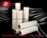 Película de estiramiento plástica activa del embalaje de la alta transparencia LLDPE para el grado de la mano y de la máquina