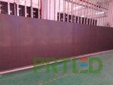 Affichage numérique polychrome d'intérieur du coût bon marché P7.62 DEL Avec les panneaux minces