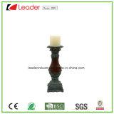 Figurine держателя для свечи штендера Polyresin для дома и сада Decoraiton