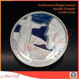 Moneta su ordinazione del metallo di uso placcato oro per i regali promozionali