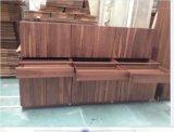 Muebles modernos de la cocina de madera sólida