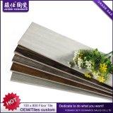 Chambre à coucher en bois 150 x 800mm de salle de séjour de plancher de tuiles de céramique de Foshan Juimsi