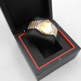 La venta al por mayor modificó el rectángulo de regalo para requisitos particulares de empaquetado del brazalete de madera del reloj