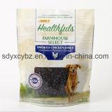 mit SGS genehmigter Fastfood- Beutel mit Reißverschluss für Haustier-/Hunde-/Vogel-/Fisch-Nahrung
