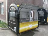 Carros móviles al aire libre del alimento