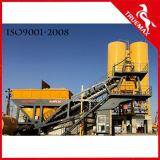 60m3/H를 위한 자동화 휴대용 이동할 수 있는 시멘트 구체적인 기계 또는 플랜트