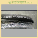 Montage van de Slang van de draad de Spiraalvormige Hydraulische (en856-4sp-1-1/4)