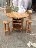 Hot Sales Wine Barrel Table Affichage des meubles avec le prix d'usine