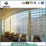 中国Factorywholesaleのガラス・ブロックが付いているダイヤモンドのまっすぐな角の空の装飾的なガラス・ブロック