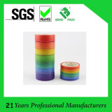 Cinta aguada de papel aguada de la cinta adhesiva del uso de la decoración