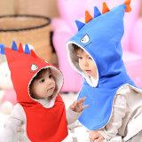 15025 sombrero siamés del bebé del tiburón de la historieta 3D