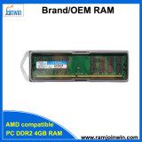 RAM применения 256MB*4 32IC 4GB DDR2 материнских плат AMD