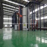 Pianta di rivestimento elettroforetica per materiale da costruzione