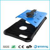 Caja rugosa híbrida a prueba de choques del teléfono del soporte para el iPhone 5 6 7 más