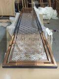 Moderne concevoir l'écran d'intérieur en métal de coupure de laser