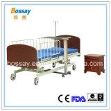 Кровать внимательности кровати медицинского пациента ручная
