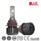 O jogo o mais novo do farol do carro do diodo emissor de luz 3800lm do diodo emissor de luz T6 9004/9007 de 40W Csc com tempo impermeável e longo
