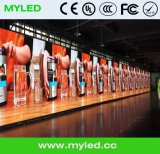 P5 SMDの広告のための屋外の標準鉄のキャビネットのLED表示