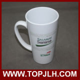 Tazza bianca di ceramica speciale del cono della tazza di caffè 17oz