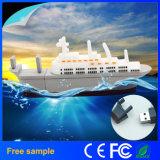 Nave modelo Pendrive del mecanismo impulsor del flash del USB de la historieta del mecanismo impulsor de la pluma del barco