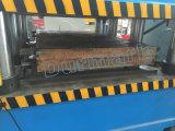 Machine gravante en relief de porte de pouvoir de presse de peau fermée de porte