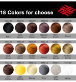 Las fibras de queratina Hair Building OEM de 18 colores