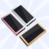 Batería colorida 10000mAh de la energía solar del diseño del cargador móvil solar del marco de la aleación