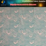 tissu tissé par Shirting estampé par gabardine de sergé du polyester 150d