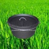 鋳鉄の鍋のキャンプセット
