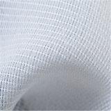 Tela que interlinea tejida del punto del algodón puro