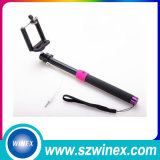 Moderner Selfie Stock mit Kabel verdrahtetes Minimonopod
