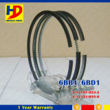 6bb1 4bb1 Peças sobressalentes para motores Isuzu Piston Ring (5-12181-023-0 5-12121-055-0)