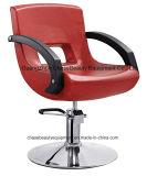 Nuevo modelo de color rojo Styling Muebles silla de barbero y Lady'chair