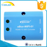Uso do APP do telefone móvel de Epsolar Ebox-WiFi-3.81 para o controle solar do Ep Itracer Remoto