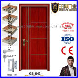 Полным дверь Teak проектированная цветом деревянная